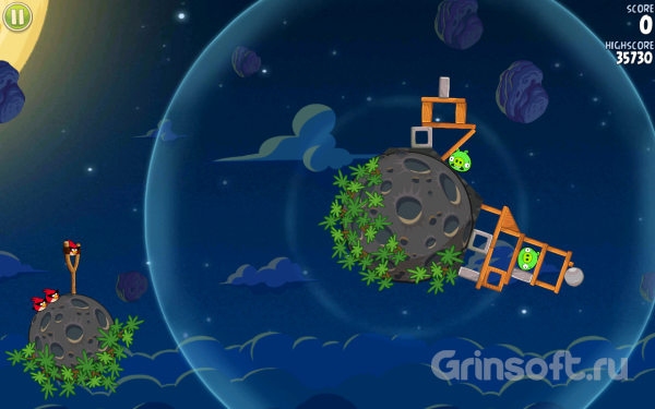 Angry Birds Space на Android