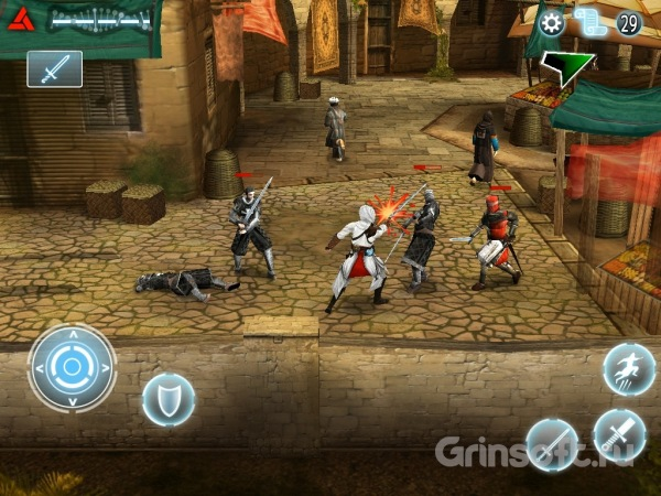 Квест для Android «Assassin's Creed»