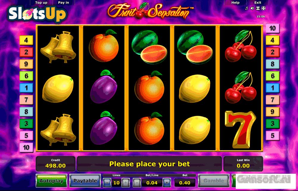 Fruit sensation slot online